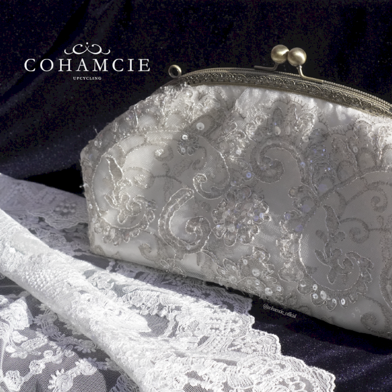 wedding hand clutch